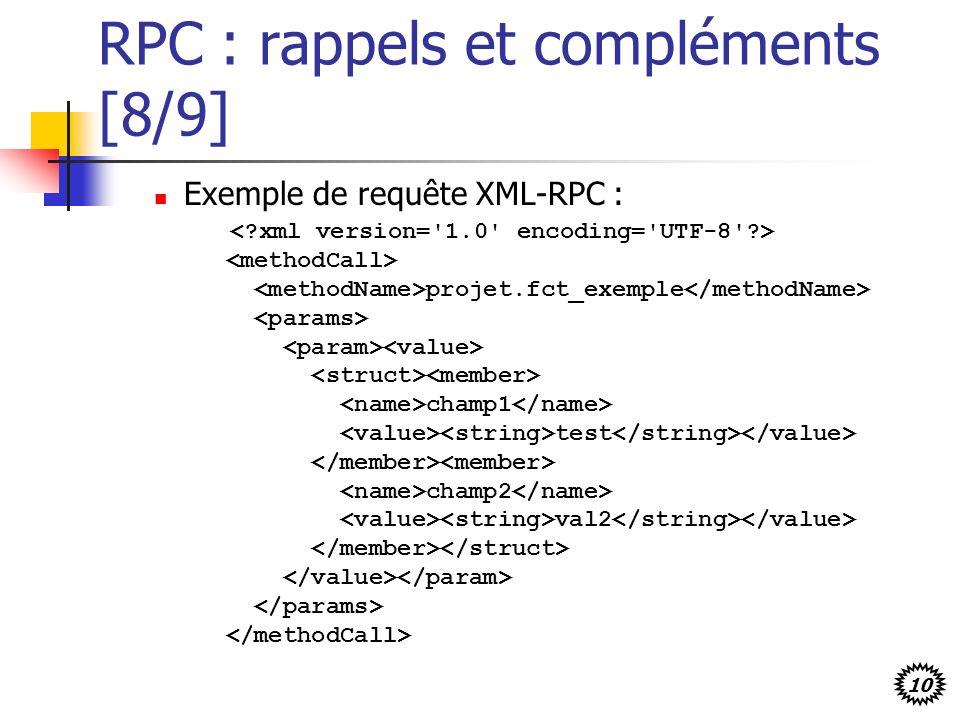 RPC : rappels et compléments [8/9]